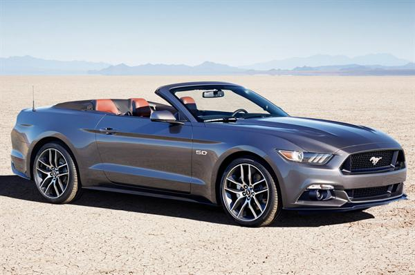 Rent a Mustang Convertible and cruise through Beverly Hills