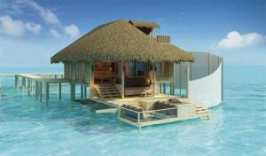 Upgrade to Overwater bungalow in the Maldives