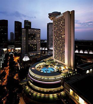 A night's accommodation in Pan Pacific Singapore
