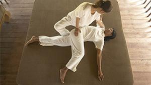 Thai massage and stretch