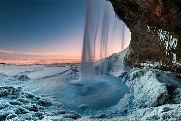 Tour of waterfalls of South-Iceland; Seljalandsfoss, Skógafoss & Gljúfrabúi