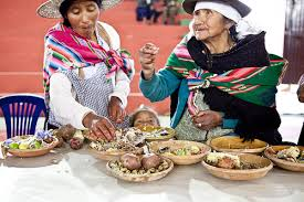 Bolivian dinner