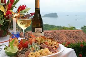 Costa Rican dinner