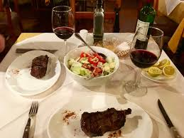Dinner in Santiago, Chile