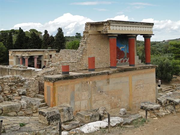 Labyrinth in Knossos