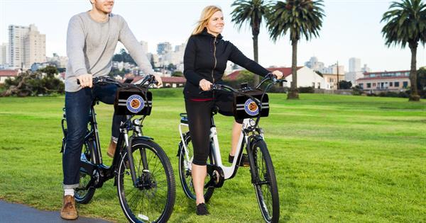 San Francisco E-bike tour
