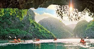 Kayaking- Halong Bay