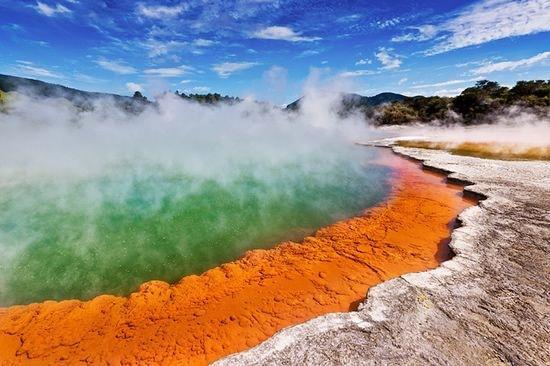 Geothermal Pool Experience
