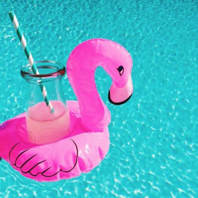 Cocktails in the pool