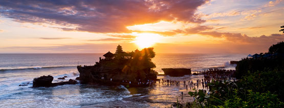 Sunset tour Tanah Lot Temple