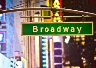 A Broadway show