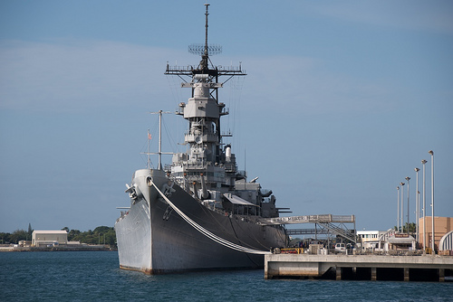 USS Missouri tour