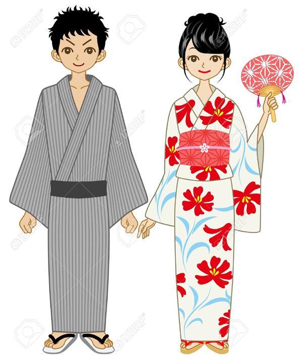 Matching Kimonos