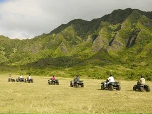 ATV Adventure Tour of Kualoa Ranch