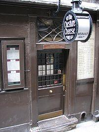 The Ye Olde Cheshire Cheese
