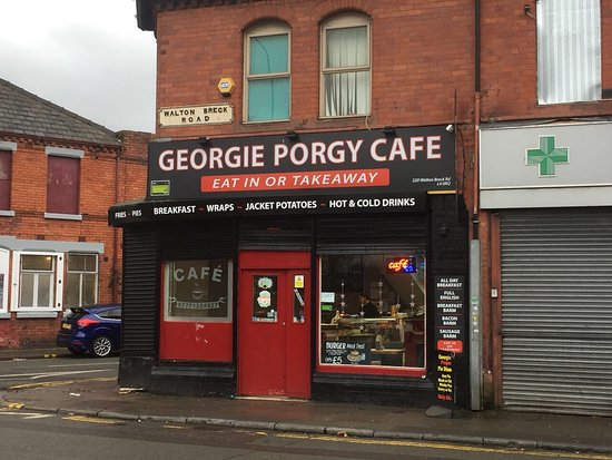 Georgie Porgie Cafe - Anfield