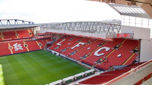 x2 Tour Tickets for LFC Anfield Stadium