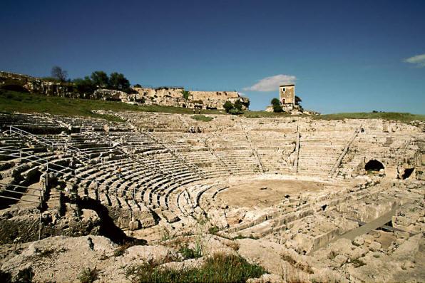 Entrance to Parco Archeologico della Neapolis