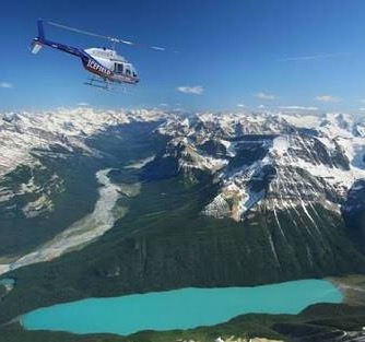 Canada - Banff from Above