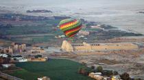 Hot air balloon flight over Cairo