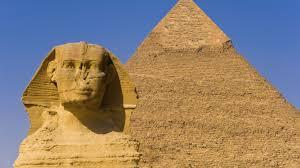 Behold the Great Pyramids of Giza