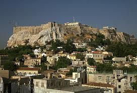 Dinner overlooking the Acropolis