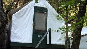 Heated tent cabin in Yosemite National Park (2)