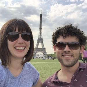 Sarah and Christopher's Honeymoon Wish List - Honeymoon registry Dubai, Cyprus, Santorini, Paris