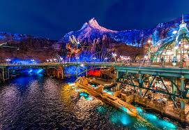 Disneyland and Disneysea