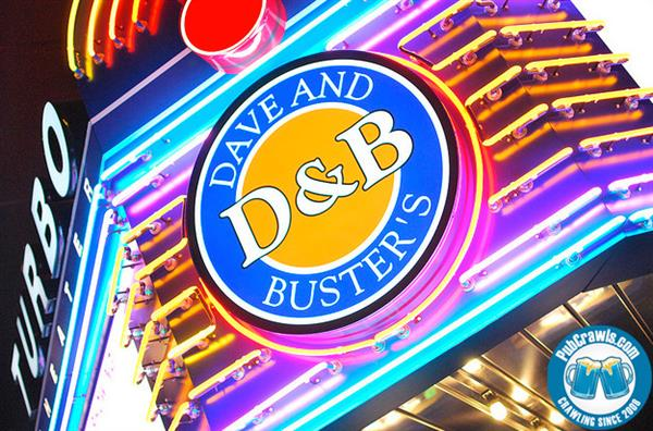 Dave and Busters - Jamies choice