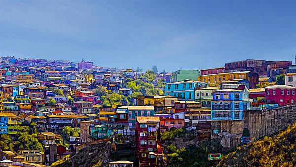 Two days in Valparaiso in Chile