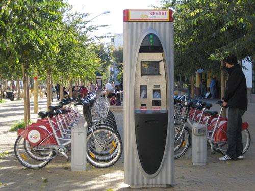 Seville Bike Sharing Service
