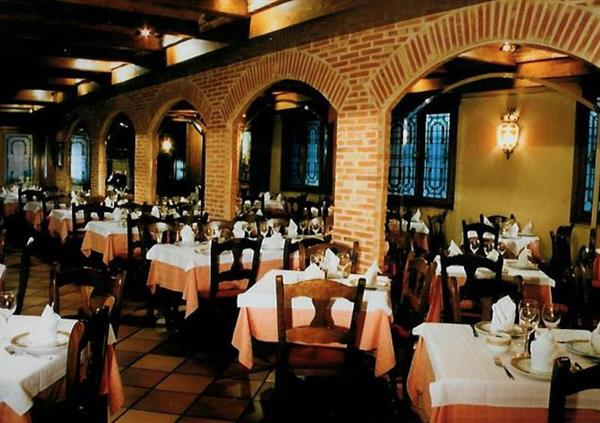 Dinner out in Spain