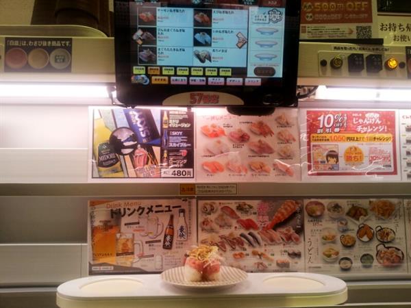 Tokyo: High-Speed Sushi