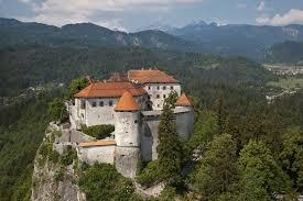 Castle at Lake Bled
