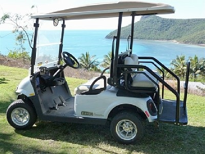 Golf buggie hire around Hamilton Island