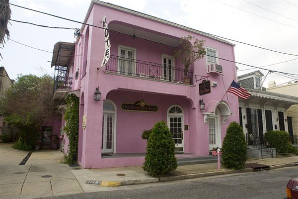 A night's accommodation at The Pink House, New Orleans