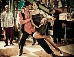 Salsa class in Cuba