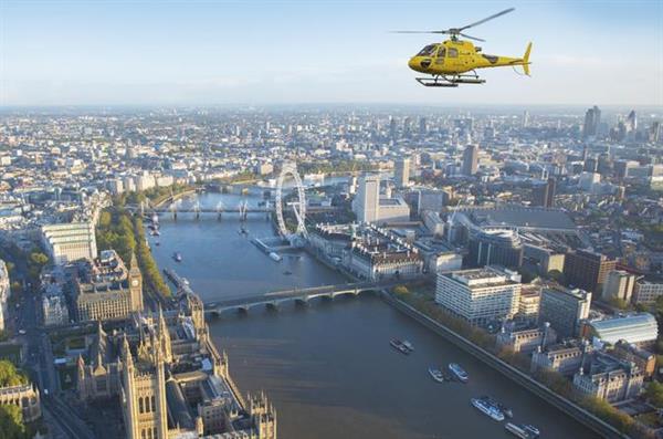 Across the Skies of London