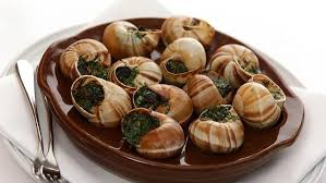 Gourmet Garlic Snails (and wine)