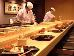 Japanese sushi lunch