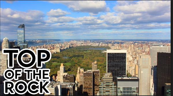 "2 Tickets to the ""Top of the Rock"""