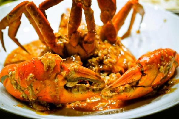 Ministry of Crab dinner