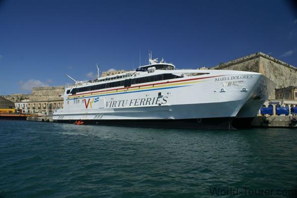 Ferry to Malta