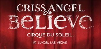 Criss Angel 'Believe' Magic Show in Las Vegas
