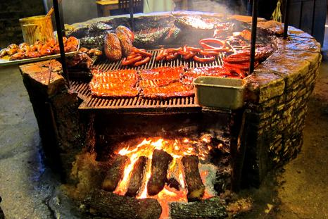 BBQ at the Salt Lick