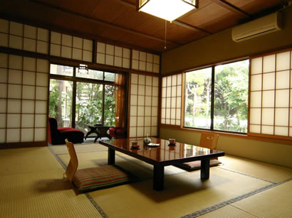Accommodation in a traditional ryokan