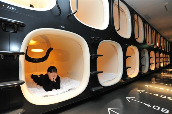 Should we sleep in a capsule hotel?