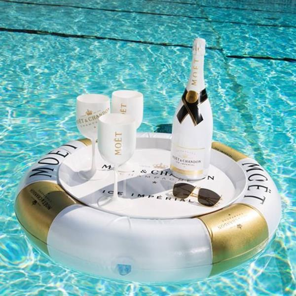 Champagne at a Vegas Pool Party