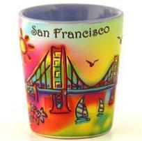 San Fran Shot Glass